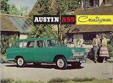 Austin A55 Cambridge Countryman 1960-61 UK Market Launch 4pp Sales Brochure