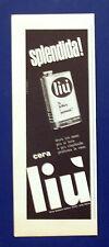 A559-Advertising Pubblicità-1960-LIU' CERA PER PAVIMENTI