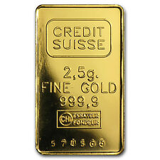 2.5 gram Gold Bar - Secondary Market - SKU #9059