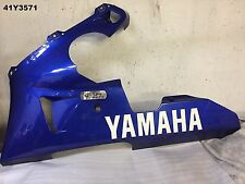 YAMAHA  YZF 1000  R1  2000  5JJ  LH BELLY PAN  OEM  LOT41  41Y3571 - M669