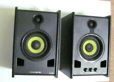 Hercules XPS 2.0 DJ Monitor Speaker, 80W Power, Pair #AMS-HER-4769227