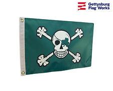 "12x18"" Blarney Bones Irish Pirate Boat Flag Double Sided All Weather Nylon"