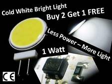 G4 LED DC 12V COB Cold White Light Bulb Lamp Car Boat Caravan - Long Lasting