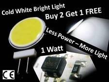 G4 LED DC 12V COB Cold White Light Bulb Lamp Car Boat Caravan - Long Lasting