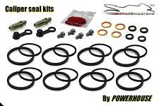Kawasaki ZX-6R Ninja front brake caliper seal rebuild repair kit 1995 1996 1997