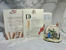 "Lilliput Lane Village Sculpture ""Petticoat Cottage"" Original Box With Deed 1994"
