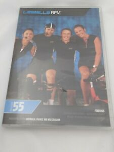 Sizzler RPM55 LesMill RPM  DVD / CD Booklet set Fitness Workout