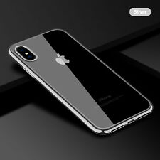 Clear Soft Silicone TPU Skin Phone Case Cover For iPhone 5 6s 7 Plus X Accessory