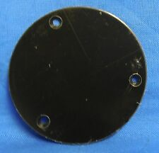 NEW ROUND CIRCLE BACK PLATE FROM FERNANDES FOR GUITAR TOGGLE SWITCH CAVITY