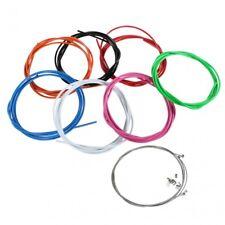 farbige Bremszughülle 7 Farben 2 Bremszüge Endhülsen Endkappen Bowdenzughülle