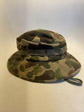 1960's Vietnam War 12th Special Forces Duck Hunter Camo Adviser Boonie Hat