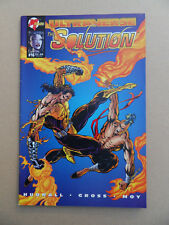 Solution 16 . Flip Cover : Ultraverse premiere # 10 .  Malibu 1995 . FN / VF