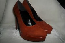 Made in Italia Platform Pumps Suede  Size 39 us 8 new