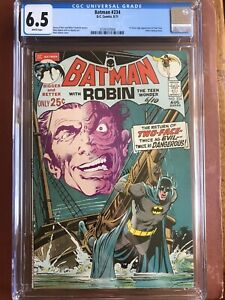 Batman 234 CGC 6.5 White Pages Neal Adams 1st Two Face SWEET