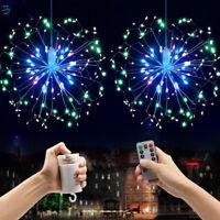 LED Dandelion Fireworks Light String Fairy Light Wedding Party Home Decor Supply