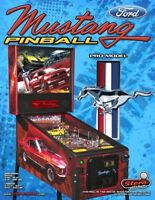 MUSTANG PRO Pinball Machine Flyer Original NOS Flipper Game STERN Ford Motors