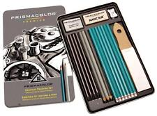 Prismacolor Premier Graphite Drawing Sketching Set - Metal Tin - 18PC