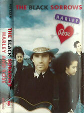 The Black Sorrows Harley & Rose CASSETTE ALBUM Folk Rock, Country RocK Pop Rock