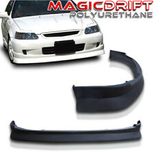 For 99-00 HONDA CIVIC  EK2/3/4 DOOR K1 Drift CS Style JDM Front Bumper Lip