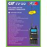 DUAL BAND AMATEUR RADIO UHF VHF CRT FP00 LCD  144 - 440Mhz HAND HELD RX TX FM