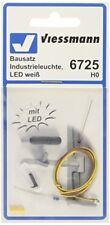 Viessmann 6725 Luminaire Industriel del Blanc Kit de montage H0