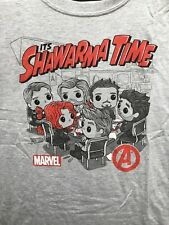 Funko Pop Tee Marvel Avengers Shawarma Time T-Shirt Size L
