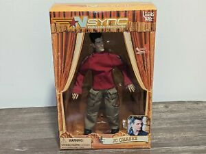*NEW/SEALED* JC CHASEZ 'N Sync No Strings Attached Marionette Doll Living Toyz