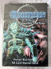 Ophidian 2350 Portal/Bio-Tek 60 Card Starter Deck and 3-11 Card Packs