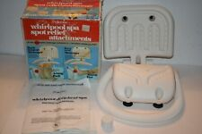 Vintage Rare Pollenex Whirlpool Spa Spot Relief Attachments Back & Foot Wbsa3