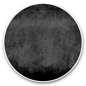 2 x Vinyl Stickers 10cm (bw) - Cool Grunge Blue Textured  #39589