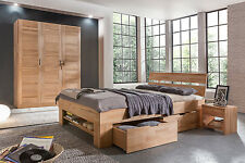Komplettschlafzimmer No.1 Mia-Marlen Kernbuche massiv