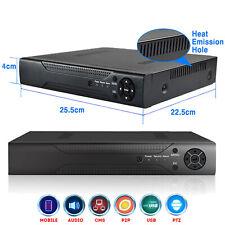 4CH  Security DVR CCTV 1080P 2.0MP HDMI H.264 Digital Video Recorder Mobile View