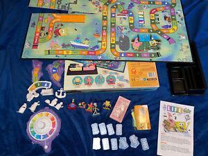 SpongeBob SquarePants The Game of Life Board Game 2005 Missing 1 Life Tile
