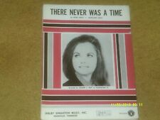 Jeannie C. Riley sheet music There Never Was A Time 1969 4 pp. (Vg shape)