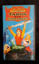 CS22> VHS WALT DISNEY - TARON E LA PENTOLA MAGICA