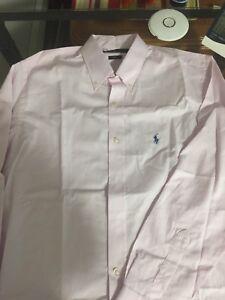 Long Sleeve Custom Fit Polo Ralph Lauren Button Down Shirts