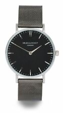 Mr Beaumont Gunmetal mesh Gents watch from Elie Beaumont