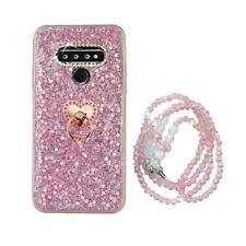 For LG Stylo 6/6V/5/5X/iPhone Bling Diamond Glitter Crystal Soft TPU Case Cover