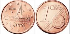 GREECE 1 Euro Cent, 2002, Bireme, Trireme, UNC World Coin