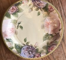 Fairy Rose Cream IHR 8 Ct Decorative Paper Dinner Plate floral pink Anne Marie