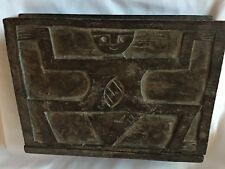 Old African/Tribal Style Wood Box