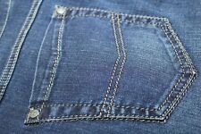 NEW DESIGNER JEANS Gardeur 40 X 30 Blue NEVIO 99% Cotton Premium Denim $245