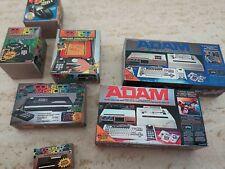 Amazing Coleco Box Set. Adam, COLECOVISION, EXPANSION SET 1,2 AND 3..etc