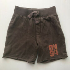 Old Navy Toddler Boys Athletic Exercise Lounge Sweat Cotton Shorts Size 2T Brown