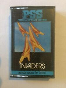 ORIC Computer Software - Invaders