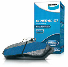 Bendix GCT Front Brake Pad Set DB1491