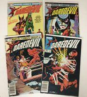 Marvel Comics Daredevil Lot Issue 196 197 198 203 FN, VF-, VF