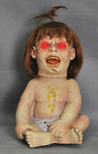 Halloween Animated PRIZED POSSESSION DEMON BABY DOLL Prop Haunted House NEW