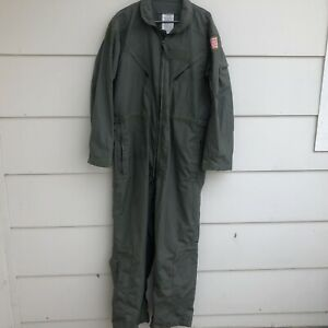 Coveralls Flying Summer Fire Resistant 48R Air Force Military Flyers Aramid