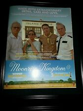 Moonrise Kingdom Rare Original Academy Awards Promo Poster Ad Framed! #2